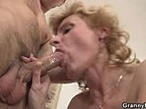 Old woman, Pickup, High definition, Mature, Masturbation, Blonde, Young, Reality, Old, Cock, Blowjob, Riding