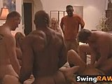 Classy swingers have some fabulous time together