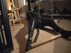 Punished, Slave, Bondage, Sport, Chained, Tied up, Choking, Bdsm, Bound, Gagging
