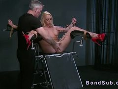 Punished, Submission, Slave, Tied up, Domination, Choking, Bdsm, Kinky, Fetish, Gagging, Nipples, Blonde, Toys, Bondage, Deepthroat, Pussy, Big tits, Rough, Master, Maledom, Babe, Bound, Latex, Squirting, Tits, Vibrator