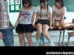 Irresistible schoolgirls receive the hard boners