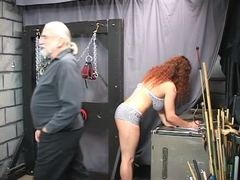 Punished, Basement, Choking, Extreme, Boobs, Lingerie, Torture, Bdsm, Fetish, Bound, Big tits, Redhead, Masked, Slave, Disgrace, Fat, Bbw, Sex, Rough, Master, Maledom, Old, Gagging, Feet, Tits, Blindfolded, Mature