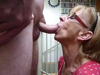 Grandmother blowjob