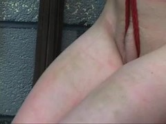 Whipping, Basement, Feet, Bdsm, Fetish, Teen, Master, Young, Spanking, Maledom, Choking, Tits, Brunette, Gagging