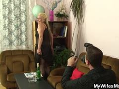 Grandmother, Mature, Wife, Friend's mom, Old, Girlfriend, Young, Fucking, Mommy, High definition, Granny, Pantyhose, Friend