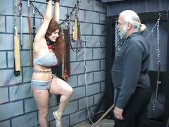 Punished, Whipping, Submission, Basement, Young, Domination, Fetish, Bdsm, Bound, Boobs, Roleplay, Redhead, Big tits, Slave, Bondage, Fat, Bbw, Disgrace, Rough, Master, Maledom, Feet, Extreme, Mature, Tits, Lingerie, Sex