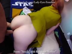 Redhead, Beaver, Fetish, Pov, Not son, Lady, Pussy, Mommy, Taboo, Hairy