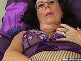 Grandmother, Cougar, Toys, Mature, British, Milf, European, Old, High definition, Granny, Pussy