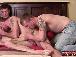 Gay anal grupp sex